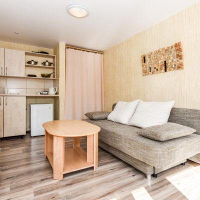 2 vietų apartamentai su terasa I aukštas