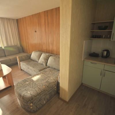 kambarys su virtuvele