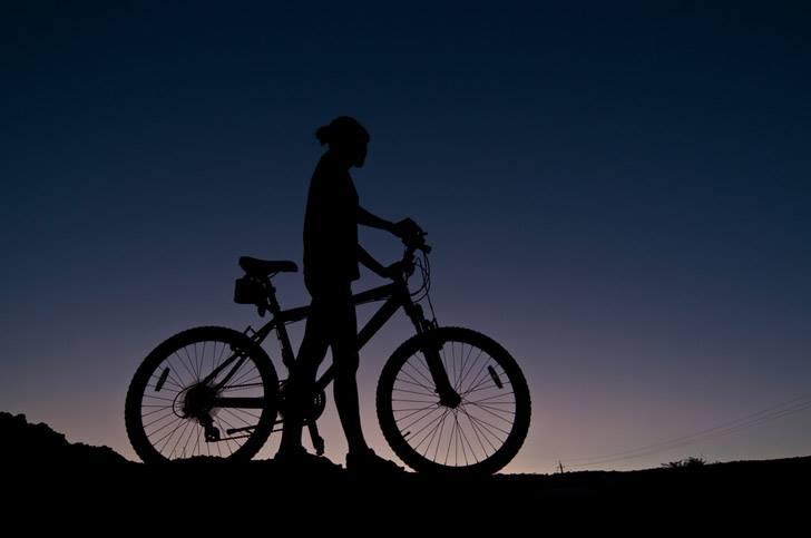 """Naktinis dviračių žygis """"Žvaigždėtas dangus"""""""