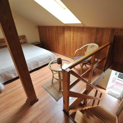 2+2 vietų dviejų aukštų apartamentai su balkonu II aukštas